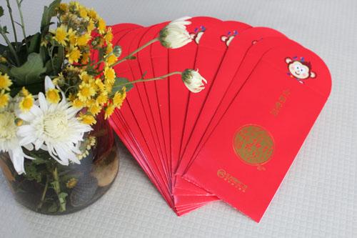 红包印刷产品