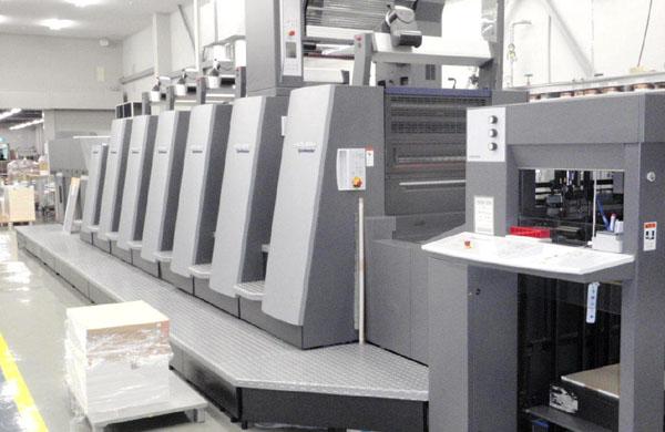 德国海德堡6+1印刷机